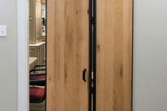 Barnfold hardware and Barn Door Edge Wrap