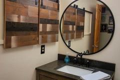 bathroom-with-Shutter-Series-cabinet-doors