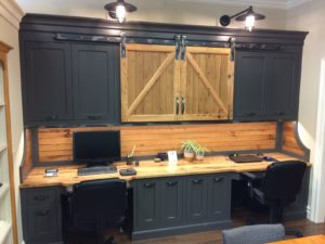 office cabinet doors with barn door hardware