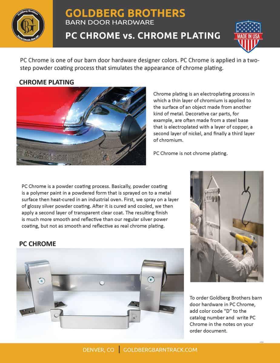 PC Chrome vs. chrome plating brochure