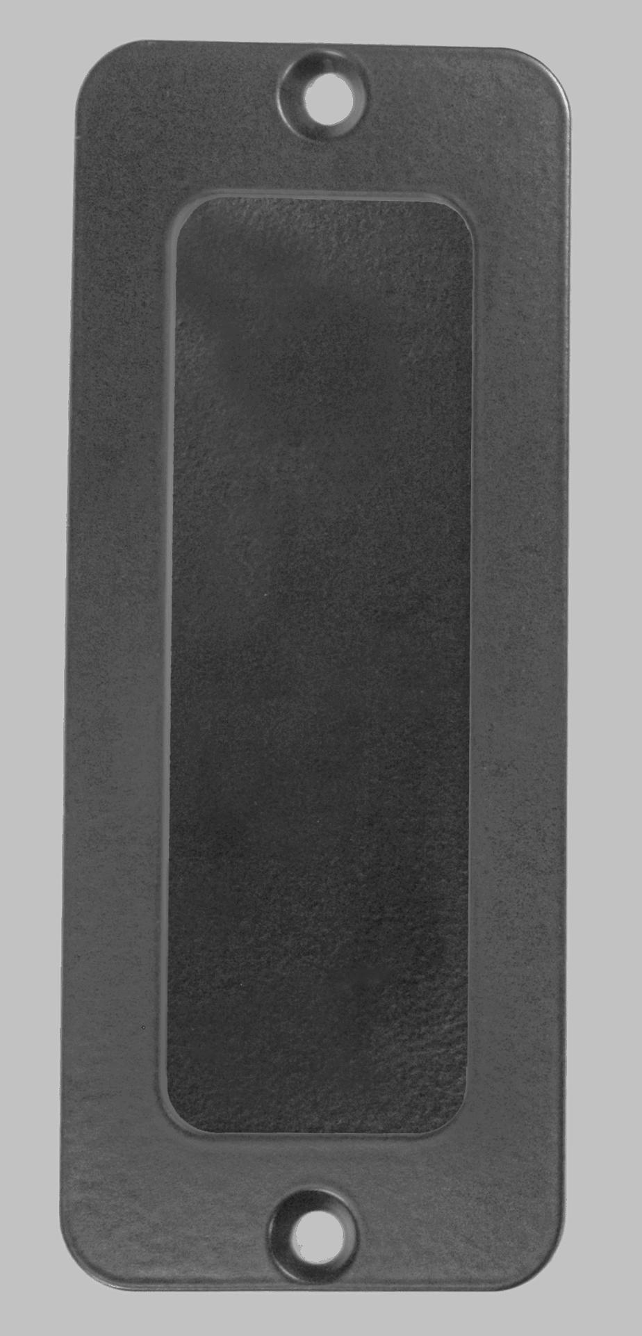 Goldberg Brothers flush pull handle with rounded rectangular shape