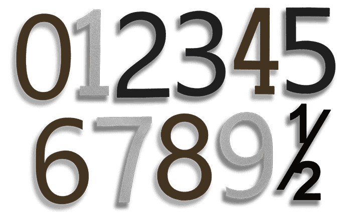 goldberg Brothers house number digits